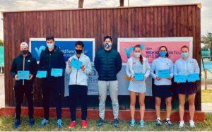 Tournoi international W15:  Ines Ibbou sacrée en double à Monastir
