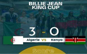Coupe Billie Jean King/2e journée: l'Algérie domine le Kenya (3-0)