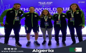 Coupe Billie Jan King: l'Algérie versée dans la Poule E