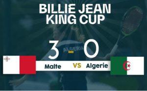 Coupe Billie Jean King/3e journée: défaite de l'Algérie devant Malte (0-3)