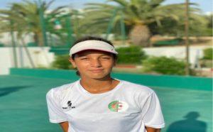 Circuit africain ITF/CAT : l'Algérienne Badache termine à la 3e place