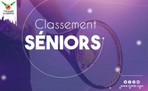 """Classement seniors """"Messieurs et Dames"""""""